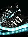 Băieți Adidași Confortabili Primii Pași Pantofi Usori Tul Primăvară Vară Toamnă De Atletism Casual LED Toc JosNegru Albastru Roz Verde