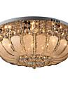 Takmonterad Glödande - Kristall Ministil, Traditionell / Klassisk Modern, 110-120V 220-240V Glödlampa inte inkluderad