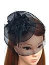 Pană Net Diadema-Nuntă Ocazie specială Pălărioare Flori Pălării/Căciuli Voaluri Plasă Στεφάνια 1 Bucată