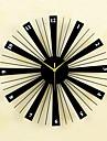 kreativ modemetall& trä mute väggklockor bakverk väggur klockor