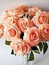 5 Gren Silke Roser Bordsblomma Konstgjorda blommor