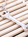 Aliaj de Aluminiu Favoruri Keychain Piece / Set Personalizat Argintiu