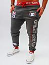 Bărbați Larg Activ Pantaloni Sport Pantaloni Chinos Pantaloni - Imprimeu, Scrisă