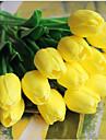 5 Une succursale Contact reel Tulipes Fleur de Table Fleurs artificielles