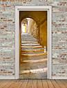 Arhitectură Perete Postituri 3D Acțibilduri de Perete Autocolante de Perete Decorative,Vinil Material Pagina de decorare de perete Decal
