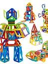 マグネットブロック 磁気タイル ブロックおもちゃ 98 pcs 車載 ロボット 観覧車 互換性のある Legoing 磁石バックル 男の子 女の子 おもちゃ ギフト