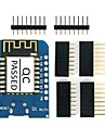 Esp8266 esp-12f d1 mini wi-fi modul de dezvoltare de bord utilizabil pentru arduino ide w / ch340g conducător auto