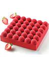 bakformen Choklad Tårta Annat Silikon Thanksgiving alla hjärtans dag Födelsedag Bröllop Jul Hög kvalitet 3D Teflonbehandlad