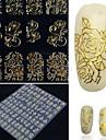 1 pcs Chic & Moderne / Elegant & Luxueux / Mode Autocollants 3D pour ongles Nail Art Design Quotidien