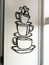 Autocolante de Perete Decorative - Autocolante perete plane Natură moartă Sufragerie / Magazien / Cafenele / Lavabil