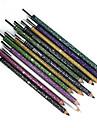 Eyeliner Makeup Tools Pens & Pencils Waterproof Makeup 12 pcs Eye Daily Daily Makeup Coloured gloss Natural Cosmetic Grooming Supplies
