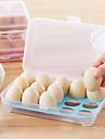 1 buc 15 bucătărie frigider ochelari de depozitare cutie de conservare cutie portabile plastice pus ouă caseta de acasă bucătărie