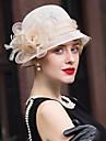 Pană In Diadema-Nuntă Ocazie specială Informal Pălărioare Pălării/Căciuli 1 Bucată