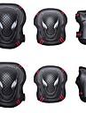 Vuxen Knä-, armbågs- och handledsskydd för Inlines Rullskridskor Hoverboard Skyddande Andningsfunktion 6-pack