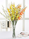 Konstgjorda blommor 10 Gren Modern Stil Orkidéer Bordsblomma