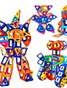 Magnetische Baukloetze Magnetische Fliesen Bausteine 228 pcs Roboter Dampf Spielzeug kompatibel Legoing Magnetisch Jungen Maedchen Spielzeuge Geschenk
