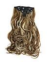 A Clipser Synthetique Extensions de cheveux 160 Extension des cheveux