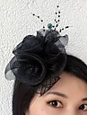 Tulle Net Fascinators Flowers 1 Wedding Special Occasion Headpiece