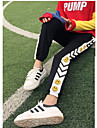 Pentru femei Activ Clasic & Fără Vârstă Larg Pantaloni Sport Pantaloni - Imprimeu, Culoare solidă