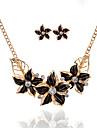Pentru femei Seturi de bijuterii Floral Stil Floral De Bază Flori Petrecere Ocazie specială Casual Aliaj Floare 1 Colier 1 Pereche de