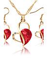 Pentru femei Seturi de bijuterii Coliere cu Pandativ Seturi de bijuterii de mireasă Zirconiu Cubic Clasic Modă Adorabil Euramerican stil