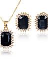 Pentru femei Seturi de bijuterii Coliere cu Pandativ Seturi de bijuterii de mireasă Zirconiu Cubic Clasic Modă Euramerican stil minimalist