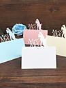 Hârtie cărți de masă Cartonșe cu Numere Stil în picioare