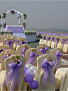 Culoare solidă Tul Panglici de nunta - 1 Piece / Set Panglică organza Cupă Suport cu decorațiuni pentru favoruri Cutie cadouri decorată