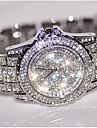 Pentru femei Ceas de Mână Ceas Brățară Unic Creative ceas Simulat Diamant Ceas Ceasuri Pave Ceas Elegant  Ceas La Modă Chineză Quartz