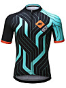 Mysenlan Men\'s Short Sleeve Cycling Jersey Bike Jersey Top Breathable Quick Dry Sports Polyester Mountain Bike MTB Road Bike Cycling Clothing Apparel