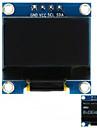 0.96 Interfață i2c 128x64 interfață albă cu afișaj alb pentru arduino