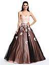 Rochie de bal dulce podea lungime satin rochie de bal rochie cu beading de ts couture®