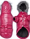 Câine Haine Pijamale Îmbrăcăminte Câini Casul/Zilnic Solid Gri Mov Albastru Roz