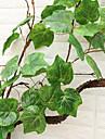 Flori artificiale 2 ramură Pastoral Stil Plante Față de masă flori
