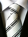 Bărbați Dungi Fulare Linii Cravată