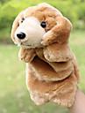 Fingerdocka Hand- och fingerdockor Handdocka Leksaker Hundar Söt Djur Stor storlek Vackert Plysch Plysh Barn 1 Bitar