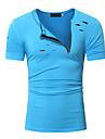Bărbați Rotund - Mărime Plus Size Tricou Bumbac Mată Modă