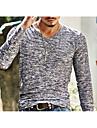 Bărbați În V Tricou De Bază Imprimeu