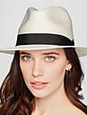 Damă Solid Primăvară Vară Pălărie Vintage Clasic & Fără Vârstă In Microfibră,Palarie de soare Culoare pură