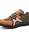Bărbați Pantofi Plasă Primăvară / Toamnă Confortabili Adidași de Atletism Drumeții Gri / Galben / Maro Închis