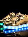 Fete Adidași Confortabili Pantofi Usori PU Primăvară Vară Toamnă Iarnă Casual Plimbare Confortabili Pantofi Usori Bandă Magică LED Toc Jos