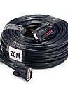 VGA Cablu, VGA to VGA Cablu Bărbați-Bărbați 20.0m (60ft)