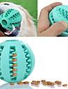 Tandsprickningsleksaker för katter Tandsprickningsleksaker för hundar Enkel att installera Matautomat Elastisk Hållbar Fotboll Kul Gummi