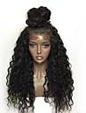 Syntetiskt hår peruker Lockigt Sexigt Lockigt Afro-amerikansk peruk Naturlig hårlinje updo Värmetåligt Spetsfront Naturlig peruk Lång