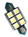 Festong Bilar Glödlampor 3 W SMD 5050 300 lm LED Tillbehör