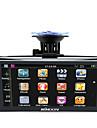 Kkmoon 7 hd berøringsskærm bærbar GPS navigator 128mb ram 4gb rom fm mp3 video spil bil underholdning system med ryg støtte gratis kort