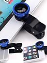 Clip universel 3in1 sur le kit de lentille de la camera macro macro pour telephone intelligent