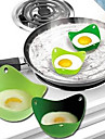 2 Piese Ustensile Ou For pentru ou Silicon O noua sosire Calitate superioară