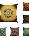 6 buc Bumbac/In Stil Boem Noutate Modă Vintage Retro Tradițional/Clasic Neoclasic Mediteranean Stiluri de Plajă Cool O noua sosire