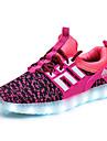 Fete Adidași Confortabili Pantofi Usori Tul Primăvară Vară Toamnă De Atletism Casual Plimbare LED Toc JosNegru Verde Albastru Roz Roz
